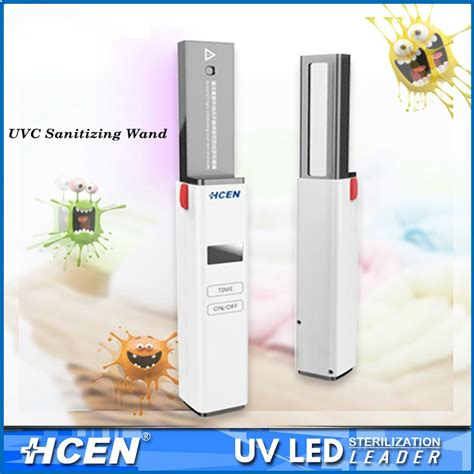 uv light disinfection handheld portable uv sanitizing wand