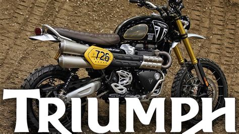 Modification Triumph Scrambler 1200 by Triumph 2019 Scrambler 1200