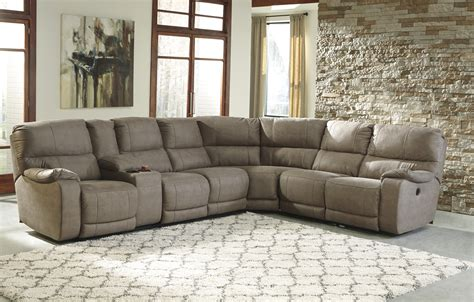 fabric sectional sofas reclining fabric sectionals