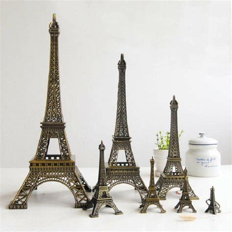 Tower Decorations by Eiffel Tower Souvenir Miniature Model Decoration