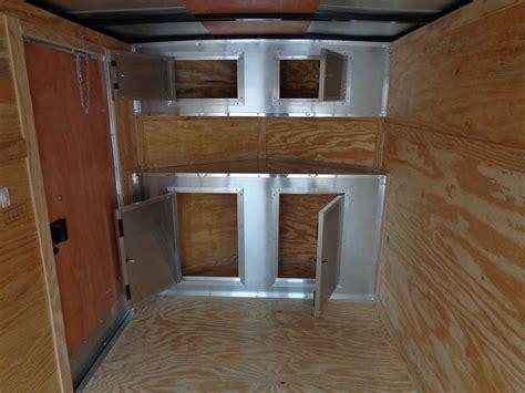 V Nose Enclosed Trailer Cabinets by V Nose Enclosed Trailer Cabinet Pictures Motorcycle