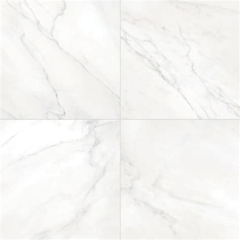 white porcelain tile 600x600mm verona carrara white and black vein polished