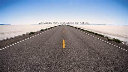 Faith Walk Confidence Hope Christian Wallpapers