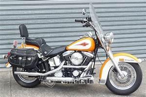 Sold  Harley Davidson Flstc Heritage Softail Classic Solo