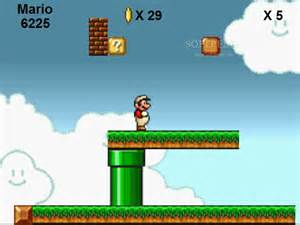 Super Mario Flash Game