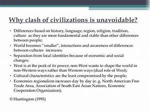 clash of civilizations summary