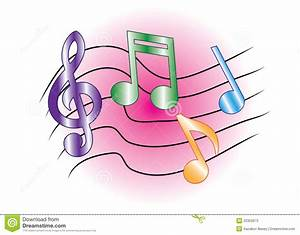 Colored Music Notes Stock Photos - Image: 20302673