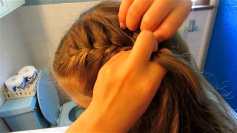 french braid pigtails amber youtube