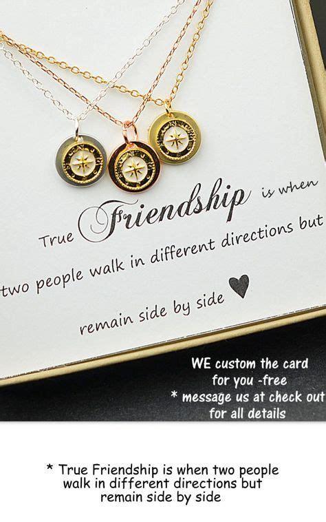 selbstgemachte geschenke für beste freund geschenk gold compass collier besten freund halskette halskette