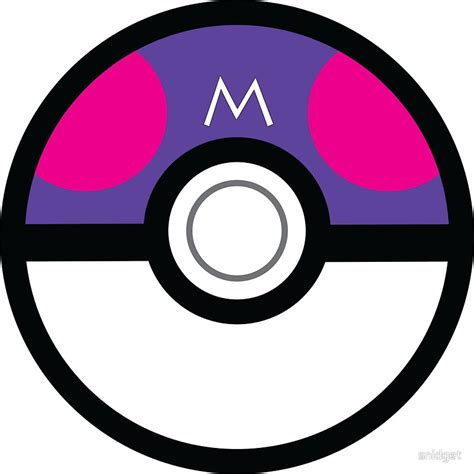 """""""Master Ball"""" Stickers by snidget"""