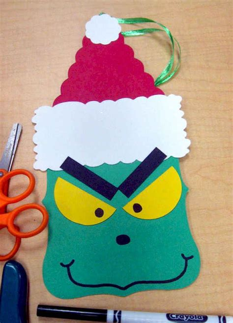 construction paper christmas crafts 20 easy crafts ideas decorations livingmarch