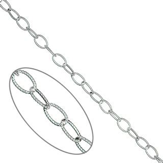 silver engraved oval trace chain wholesale chains uk