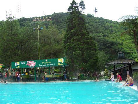 pemandian air panas guci tegal jawa tengah tempat wisata