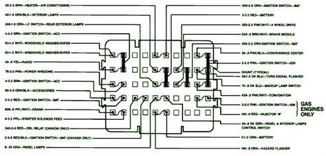 Chevy Silverado Fuse Box Diagram