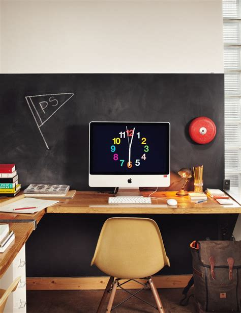 fabriquer plan de travail cuisine 42 idées déco de bureau pour votre loft