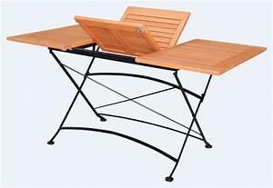 Tisch Klappbar Holz : klapptisch ausziehtisch schlossgarten 90x100 150cm stahl eukalyptus fsc ebay ~ Orissabook.com Haus und Dekorationen