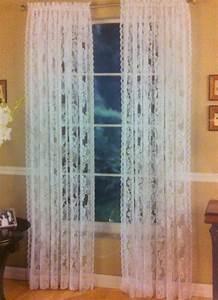 Vorhang Für Bett : wei er spitze rose vorhang f r schlafzimmer wohnzimmer gardinen cortinas f r fenster ~ Whattoseeinmadrid.com Haus und Dekorationen