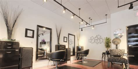 hair salon lighting improving hair salon lighting strandz updates to led 1532