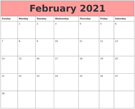 India 2021 calendar online and printable for year 2021 with holidays, observances and full moons. February 2021 Calendars That Work