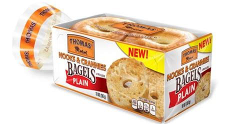 Panera Pumpkin Bagel 2017 by Thomas Now Makes Bagels With Nooks And Crannies Brand
