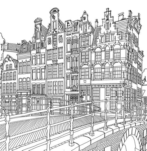 Kleurplaat City by City Coloring Pages Best Coloring Pages For