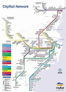 Sydney City Rail Map