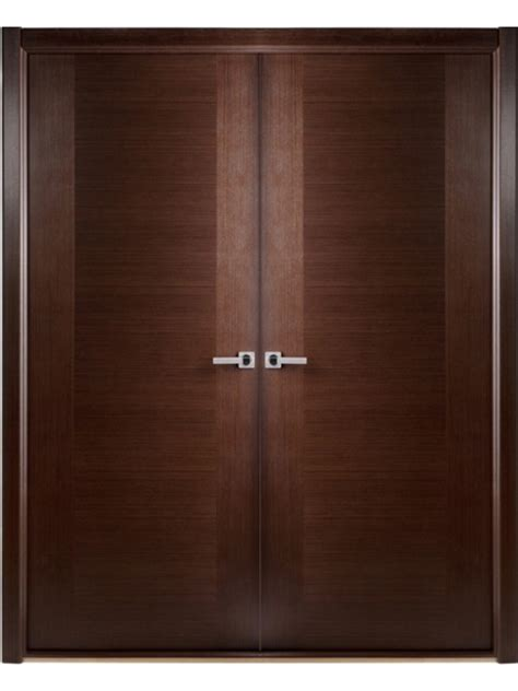 interior door modern contemporary wenge