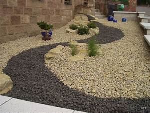 Gravier Pour Jardin : gravier concass de sarre 16 32mm ~ Premium-room.com Idées de Décoration