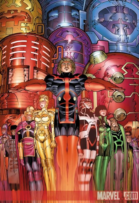Eternals (2006) #7 (John Romita Jr. Variant) | Comic ...