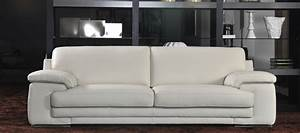 Réparer Canapé Simili Cuir : canap simili cuir beige univers canap ~ Premium-room.com Idées de Décoration