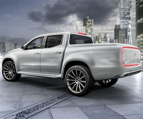 Future Mercedes X-class Unveiled In A Form Of Two Concept