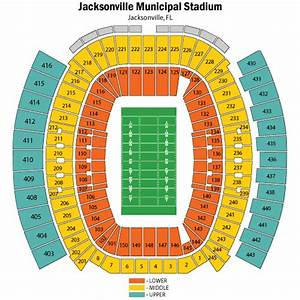 Everbank Field Seating Chart Views And Reviews
