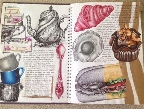 Pin Jillbury Journal Gcse Art Sketchbook