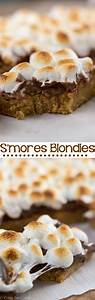 S'mores Blondies - Crazy for Crust