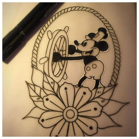 Steamboat Willie Tattoo by 1000 Ideas About Steamboat Willie On Pinterest Mickey