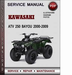 Kawasaki Atv 250 Bayou 2000