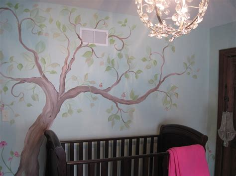 Delightful Tree Mural Painting Ideas For Home Interior