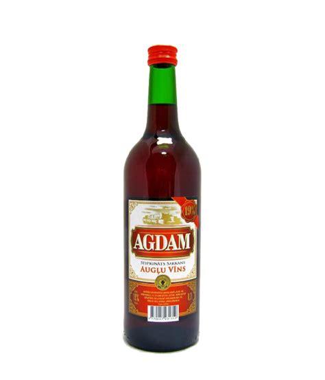 AGDAM SARKANS 0,7L 19%   WINESTOCK