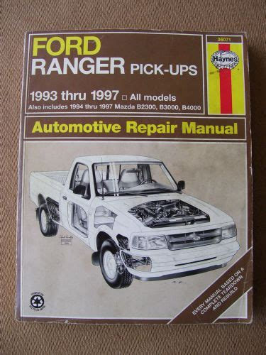 online auto repair manual 1993 ford ranger navigation system find 1993 1997 ford ranger shop manual motorcycle in katy texas united states