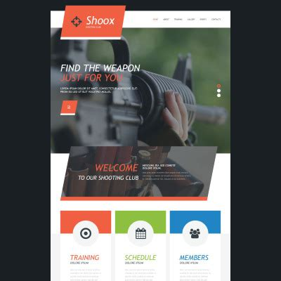 computer store muse template weapons store templates templatemonster