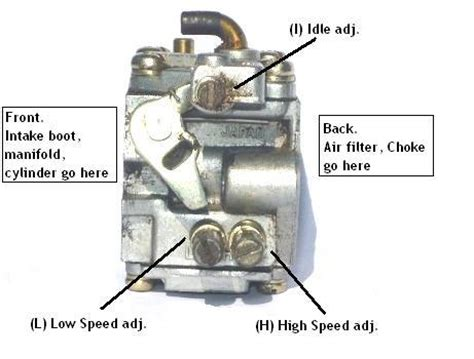 adjustment  tuning   chainsaw carburetor chainsawr
