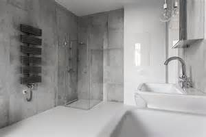 Bathroom Wall Tile Material by Keeping It In Shape Concrete Home Remodeling Ideas