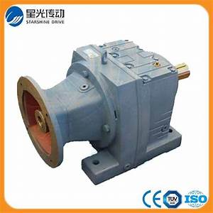 China R47 Coaxial Helical Gear Reducer Without Motor