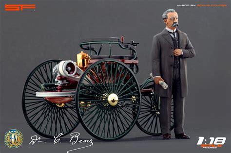 Karl Benz Figure (sf118009) In 1