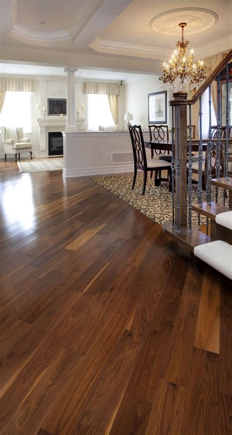 manufactured hardwood floors black walnut classic natural manufactured by muskoka hardwood flooring hardwood