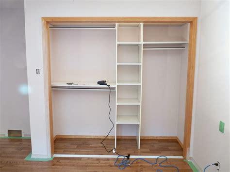 Single Door Closet Organization Ideas by A Closet Makeover Dans Le Lakehouse