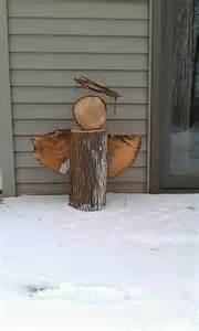 DIY Rustic Wooden Angel