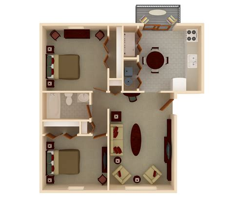 2 Bedroom Apartments 800 by Property Management Services By Renaissance Property