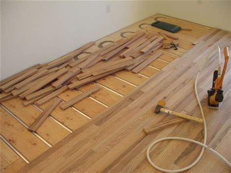 Wood floor over hydronic #radiant #heating system, Radiant
