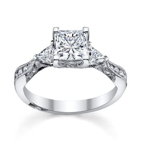 6 princess cut engagement rings ll love robbins brothers blog